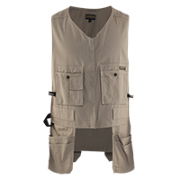 Utility Vest  loaded with pockets for maximum efficiency